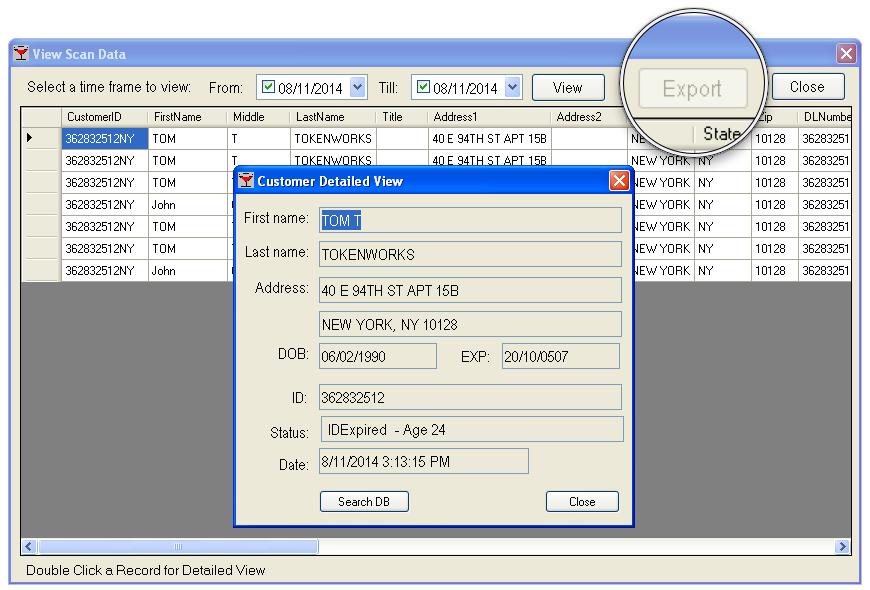 AgeVisor Export