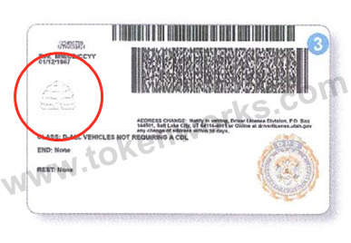 Security measures such as an embedded beehive allow new Utah Driver's Licenses to be verified by holding up to the light.