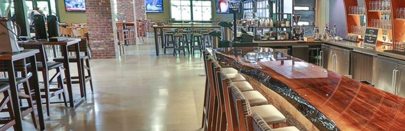 Pilot House renovated bar with IDVisor Z22