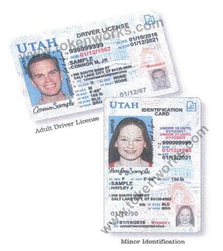 The new Utah Driver's License design offers more security to drivers of all ages.