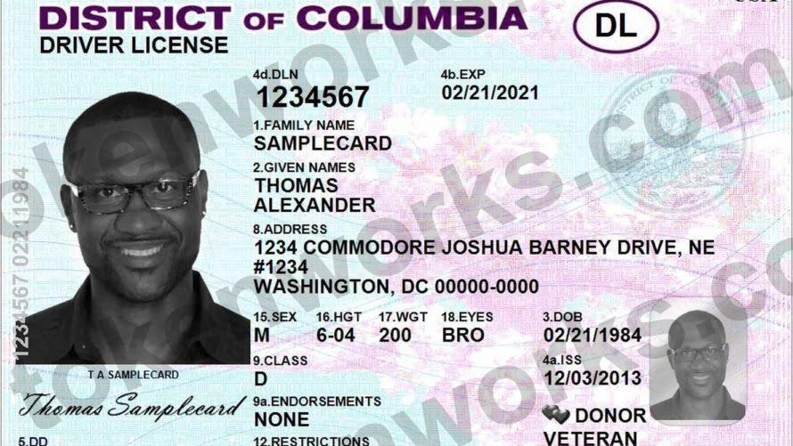 Washington DC Driver's License Name Change